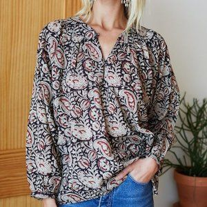 Emerson Fry India Collection Olympia Blouse